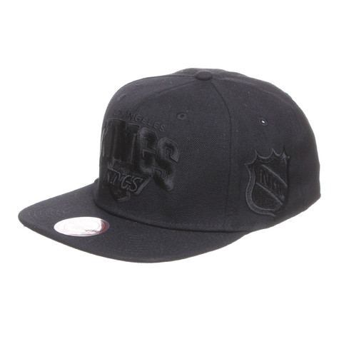 Mitchell & Ness - Los Angeles Kings NHL Arch Black On Black Snapback Cap