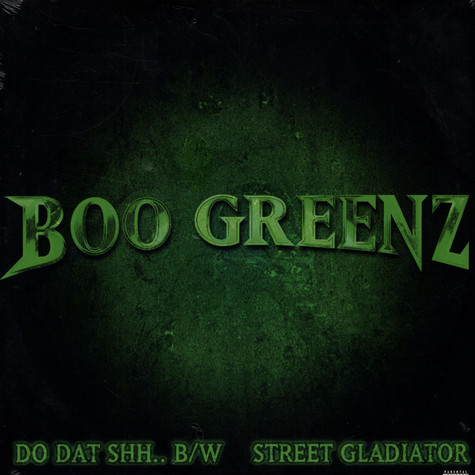 Boo Greenz - Do dat shh..