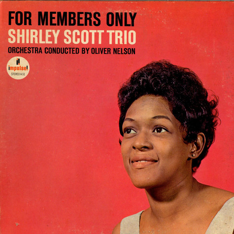 Shirley Scott Trio - For Members Only