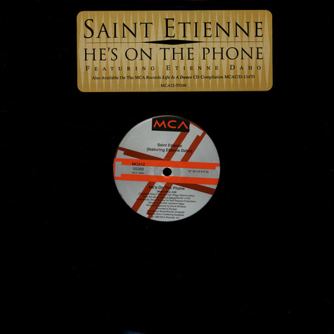 Saint Etienne Featuring Etienne Daho - He's On The Phone