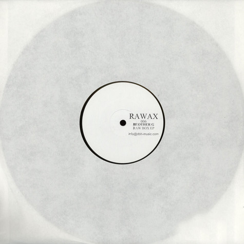Brother G - Raw Box EP