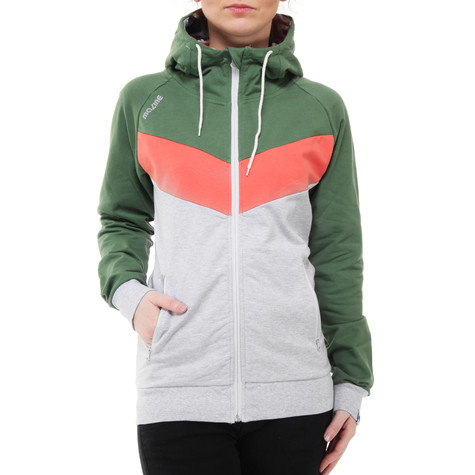 Mazine - Smileyo Women Zip-Up Hoodie