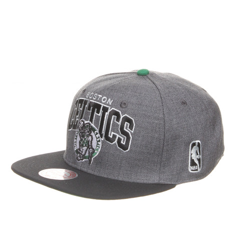 Mitchell & Ness - Boston Celtics NBA Arch W/Logo G2 Snapback Cap