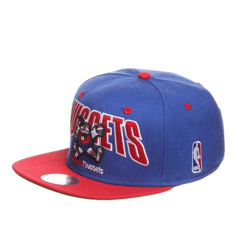 Mitchell & Ness - Denver Nuggets NBA Flashback Snapback Cap