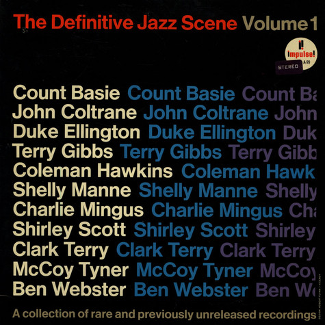 V.A. - The Definitive Jazz Scene Volume 1