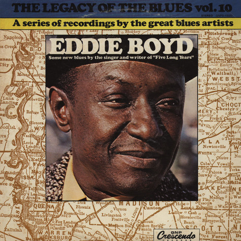Eddie Boyd - Legacy Of The Blues Vol. 10