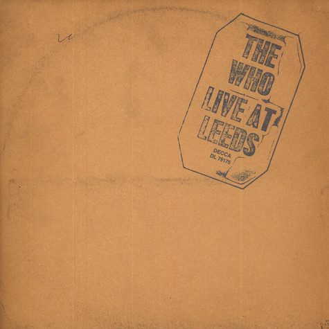 Who, The - Live At Leeds