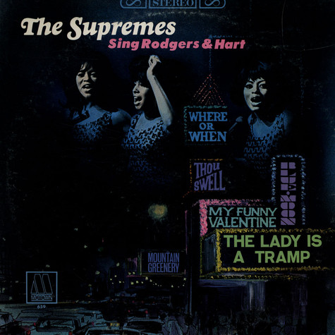 Supremes, The - Supremes Sing Rodgers & Hart