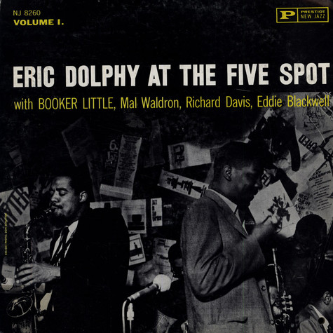 Eric Dolphy - Eric Dolphy At The Five Spot Volume 1