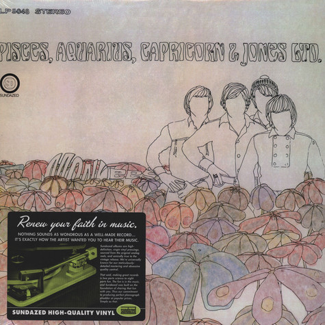 Monkees, The - Pisces, Aquarius, Capricorn, & Jones, Ltd.
