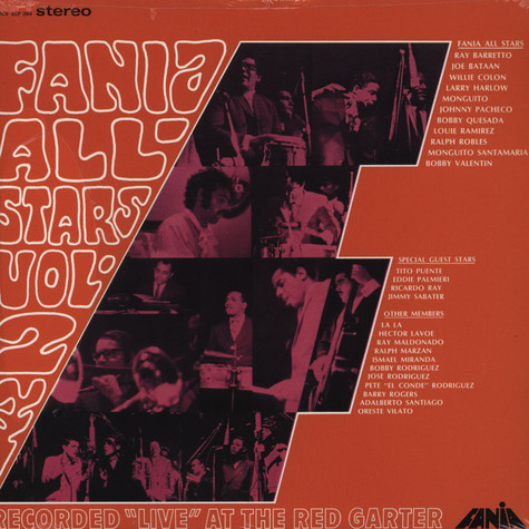 Fania All Stars - Live At The Red Garter Volume 2