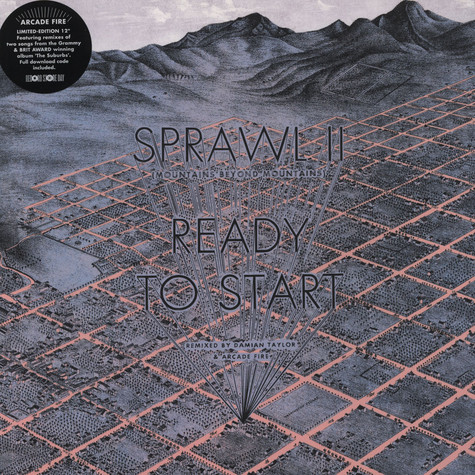 Arcade Fire - Sprawl / Ready To Start II Remixes