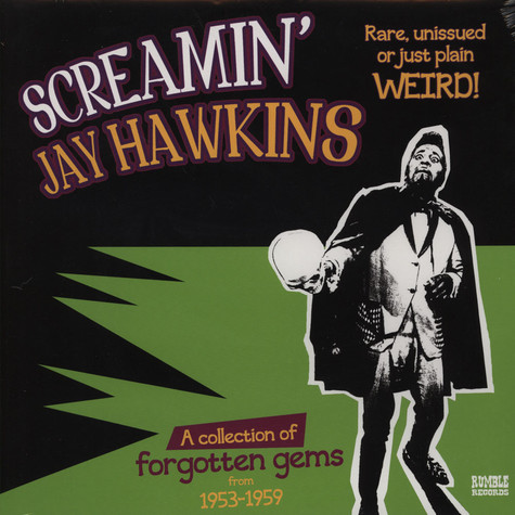 Screamin´ Jay Hawkins - Rare, Unissued Or Just Plain Weird