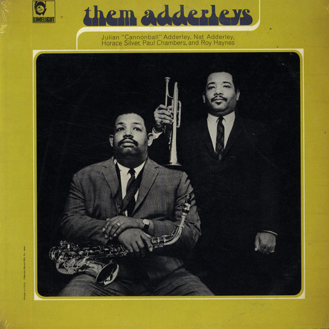 Cannonball Adderley / Nat Adderley - Them Adderleys