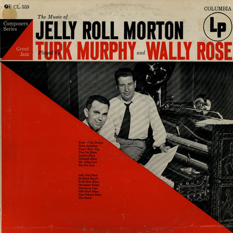 Turk Murphy And Wally Rose - The Music Of Jelly Roll Morton