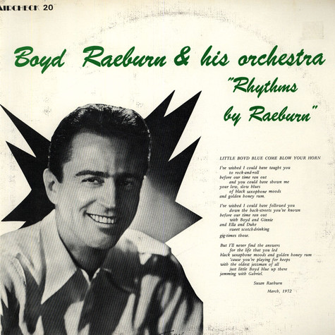 Boyd Raeburn And His Orchestra - Rhythms By Raeburn