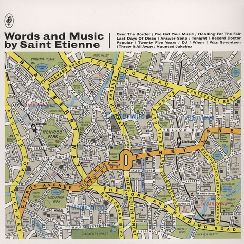 Saint Etienne - Words & Music