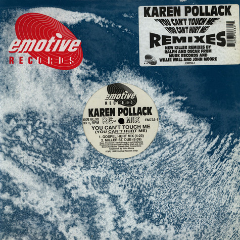 Karen Pollard - You Can't Touch Me (Rmxs)