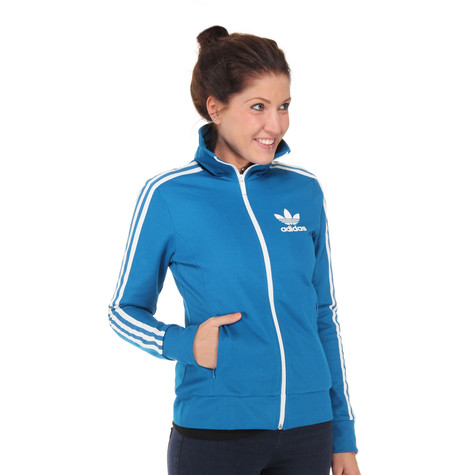 568a7fb082d7 adidas - Europa Women Track Top (Dark Royal   Running White)