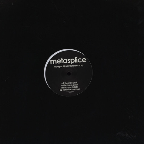 Metasplice - Topographical Interference EP
