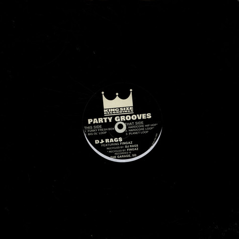 DJ Rags Featuring DJ Fingaz - Party Grooves