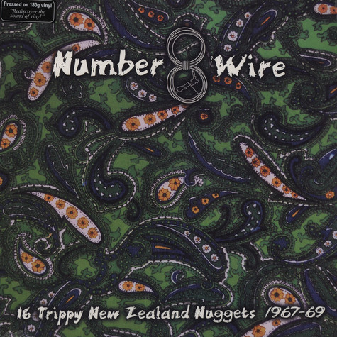 V.A. - Number 8 Wire: 16 Trippy New Zealand Nuggets