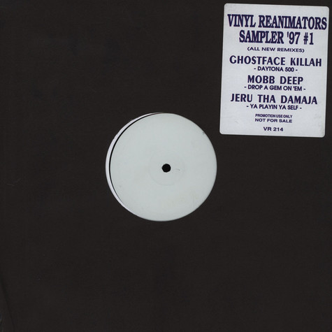 Vinyl Reanimators - Sampler '97 number 1