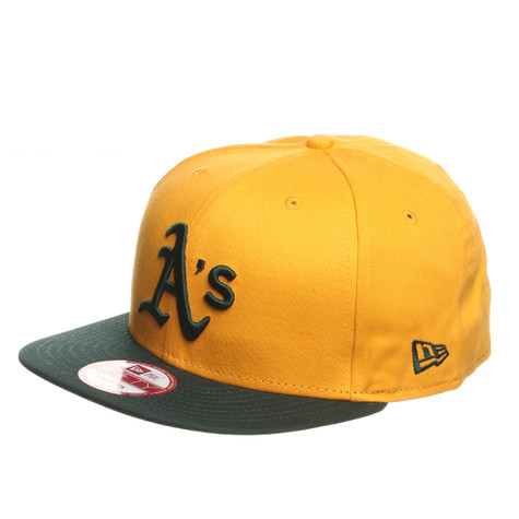 New Era - Oakland Athletics Cotton Block 2 Snapback Cap