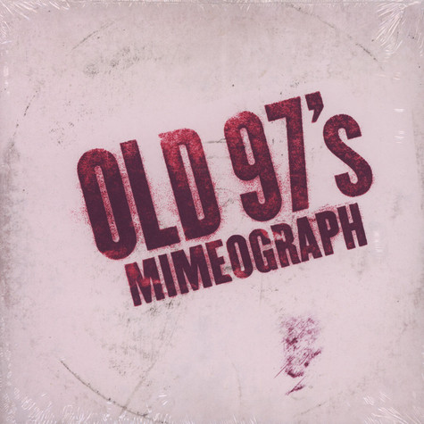Old 97S - Mimeograph