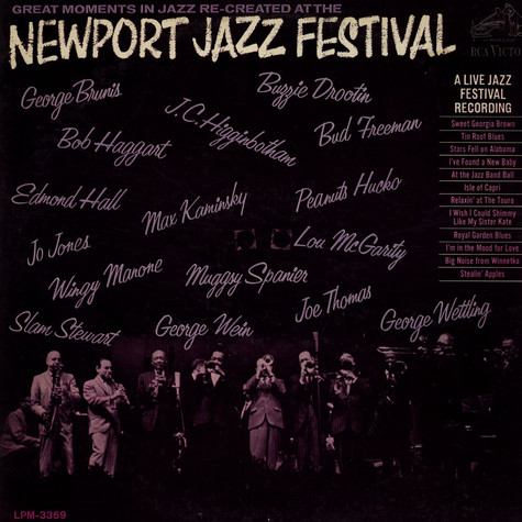 V.A. - Great Moments In Jazz - Newport Jazz Festival