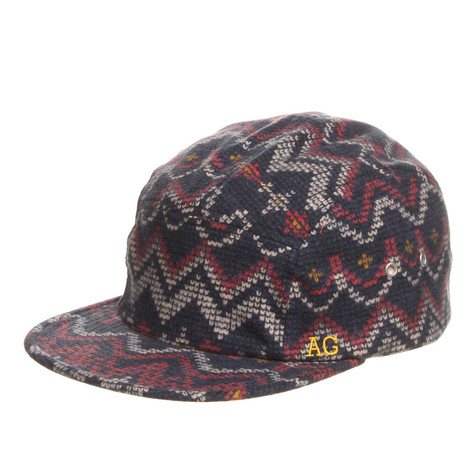 Acapulco Gold - Digital Fair Isle Camp Cap