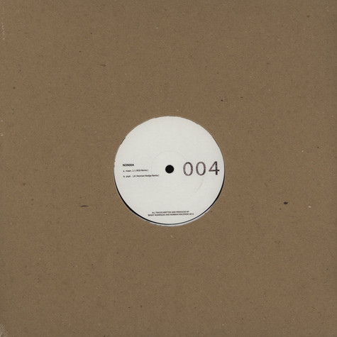 Maan / Psyk - Non004 Norman Nodge & Rod Remixes