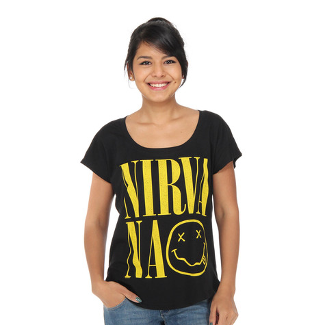 Nirvana - Smiley Dolman Women T-Shirt