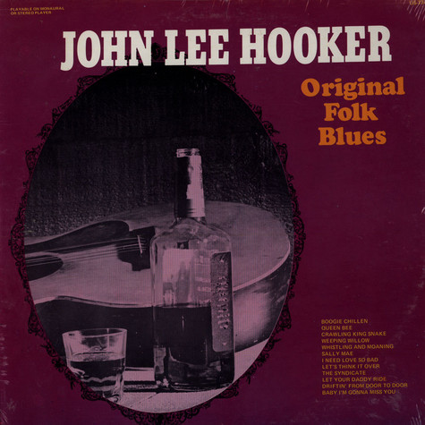 John Lee Hooker - Original Folk Blues