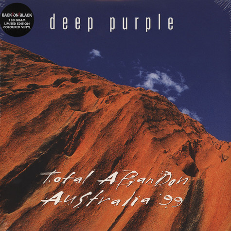 Deep Purple - Total Abandon, Australia 99
