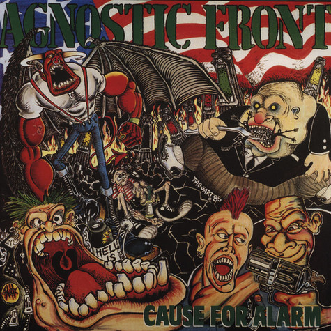 Agnostic Front - Cause For Alarm Bronze Vinyl