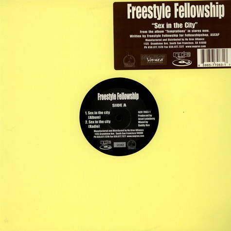 Freestyle Fellowship - Sex in the city