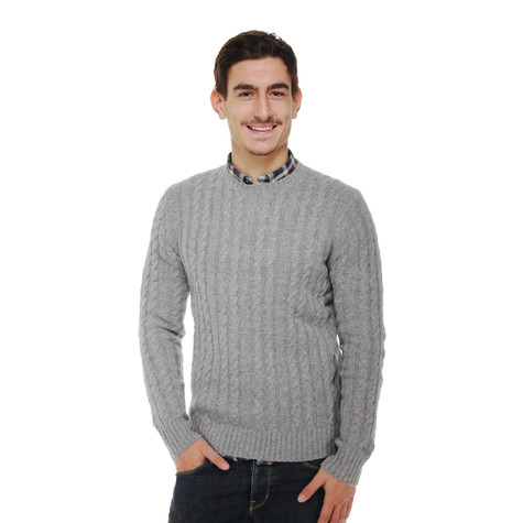 Ben Sherman - Cable Crew Neck Knit Sweater