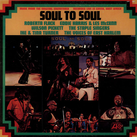 V.A. - Soul To Soul (Music From The Original Soundtrack - Recorded Live In Ghana, West Africa)