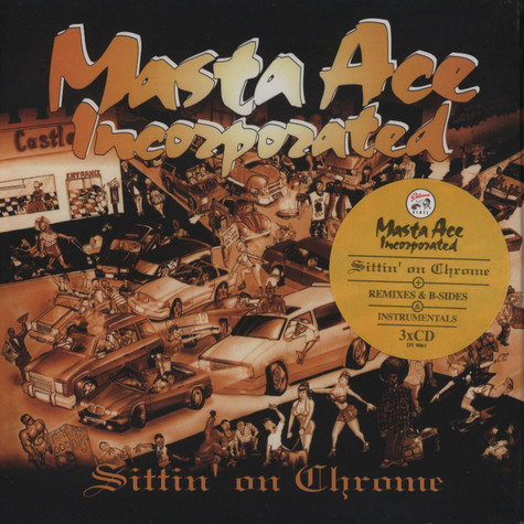 Masta Ace - Sittin On Chrome Deluxe Edition