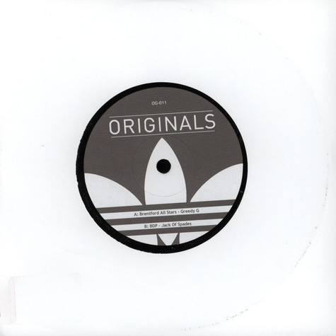Brentford Allstars / Boogie Down Productions - Greedy G / Jack Of Spades