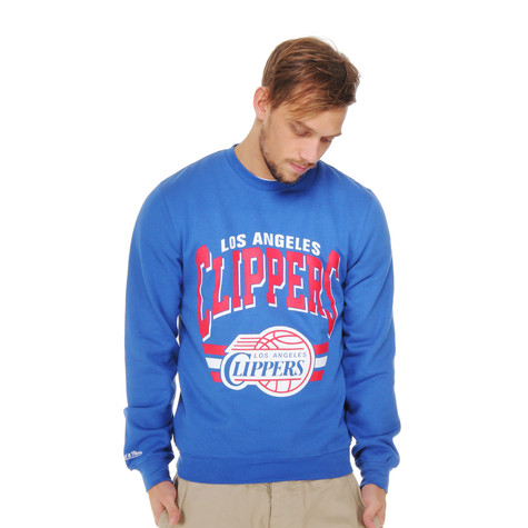 Mitchell & Ness - Los Angeles Clippers Stadium Crew Sweater