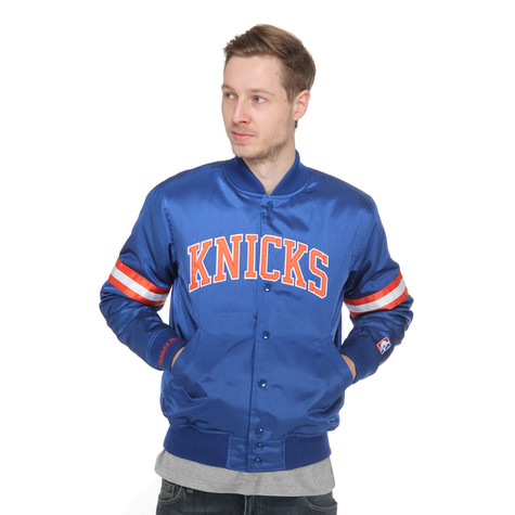 Mitchell & Ness - New York Knicks Backup Satin Jacket