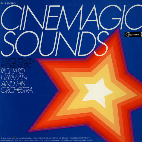 Richard Hayman And His Orchestra - Cinemagic Sounds Switched - On Movie Music
