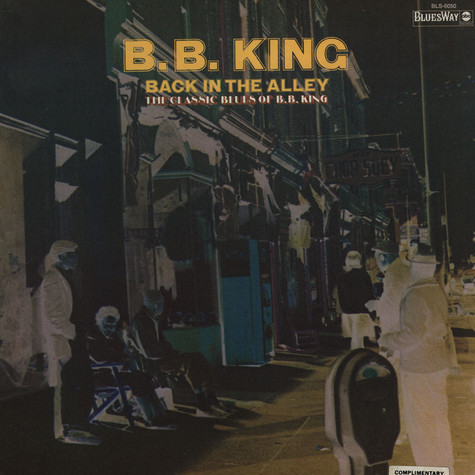 B.B. King - Back In The Alley