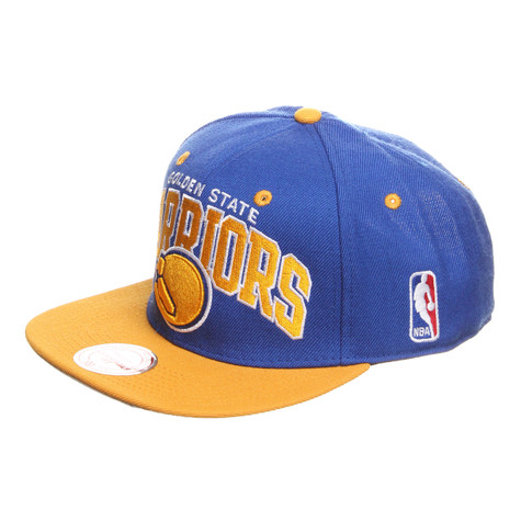 Mitchell & Ness - Golden State Warriors HWC Team Arch 2 Tone Adjustable Cap