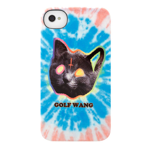 Incase X Odd Future Iphone 4 4s Tron Cat Tie Dye Blue Snap Case