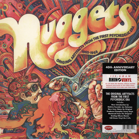 V.A. - Nuggets - Original Artyfacts From The First Psychedelic Era