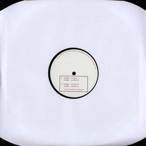 Vedagor - Untitled EP
