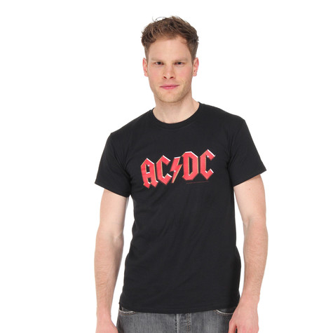AC/DC - Red Logo T-Shirt (ROCK OR BUST WORLD TOUR 2015)